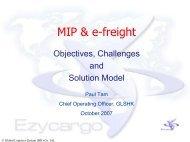 "Global Logistics System \(HK\) Co., Ltd EZYCARGO ""The ultimate ..."