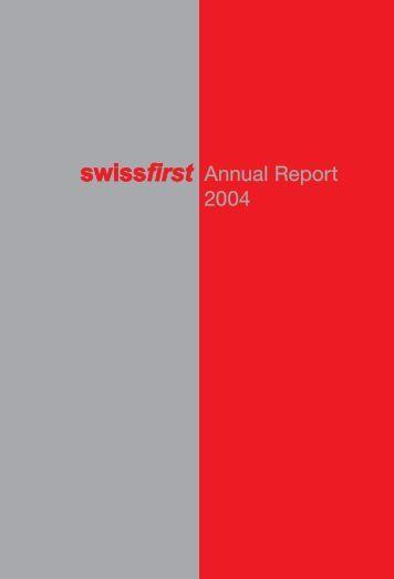 Annual Report 2004 - Bank am Bellevue