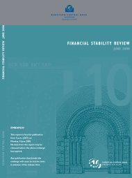 European Common Bank, Financial Stability Review - Best Minds Inc.