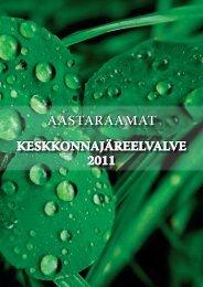Keskkonnajärelevalve 2011 - Keskkonnaministeerium