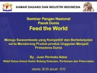 Feed the World - Kadin Indonesia