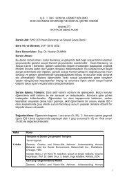 Doç. Dr. Nurdan DUMAN - Sosyal Hizmetler - Hacettepe Üniversitesi