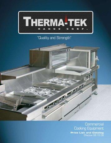 Therma-Tek Range Product Catalog