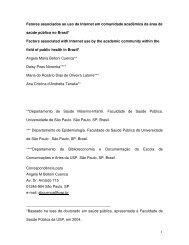 03/05/07 - Biblioteca/Centro de Informação e Referência em Saúde ...