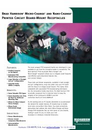 Printed Circuit Board-Mount Receptacles - ER-Soft