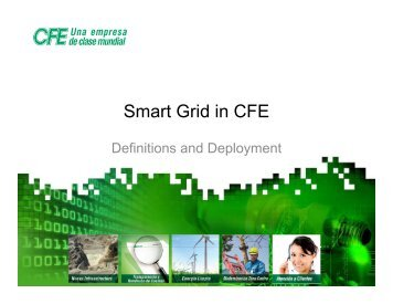 Smart Grid in CFE - U.S. Commercial Service