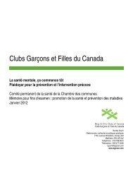 Clubs Garçons et Filles du Canada - Boys and Girls Clubs of Canada