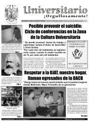 No. 25 · Lunes 10 de marzo 2003 - Publicaciones - Universidad ...