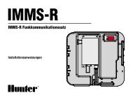 IMMS-R Funkkommunikationssatz - Hunter Industries