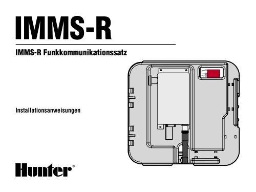 IMMS-R Funkkommunikationssatz - Hunter Industries