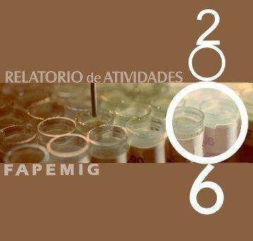 RELATÓRIO - Fapemig