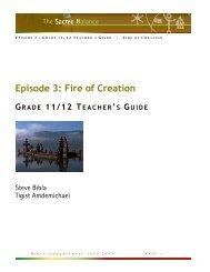 Teacher's Guide for Grades 11-12 - Bullfrog Films