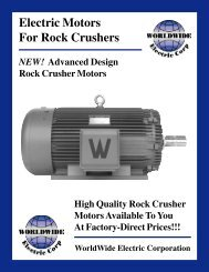 Rock Crusher Motors - Coastalhydraulics.net
