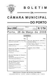 boletim 3754 - Câmara Municipal do Porto