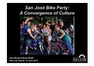 San José Bike Party: A Convergence of Culture - Velo City