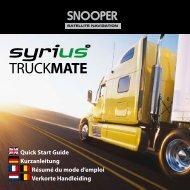 Betriebsanleitung - Truckmate