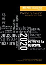 Payment by Outcome - Support