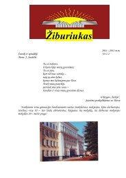 Žiburiukas - Panevėžio Kazimiero Paltaroko gimnazija