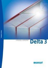 Delta 3 trolley shelter - Expedit