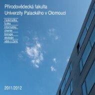 Bakalářské studijní programy - Univerzita Palackého v Olomouci