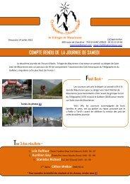 Samedi 13 juillet - Le Cyclo'Tour