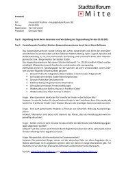 Protokoll der Sitzung am 1. September 2011