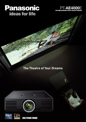 PT-AE4000E - The Home Cinema Centre