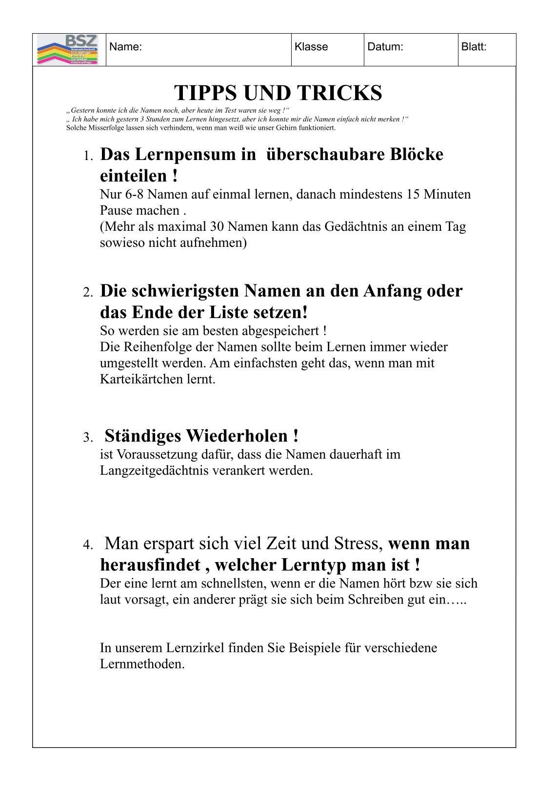 Beste Beste Tipps Zum Lebenslauf Schreiben Bilder - Entry Level ...