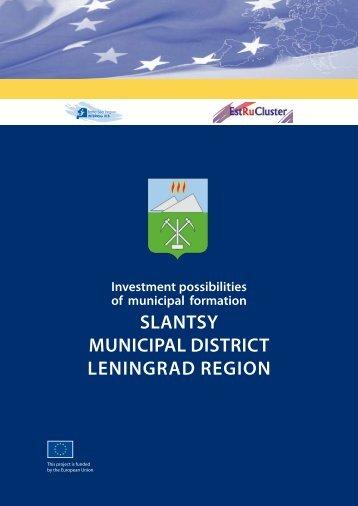 SlantSy Municipal DiStrict leningraD region
