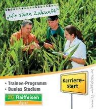 """""""Wir säen Zukunft"""" - ZG Raiffeisen"""