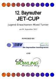 JET-Ausschreibung Cup 2012-1