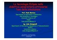 presentazione - Università degli Studi di Trento