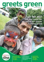August/September - The Greets Green Partnership Legacy Website