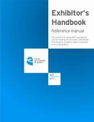 Exhibitor's Handbook Reference Manual - Centre des congrès de ...