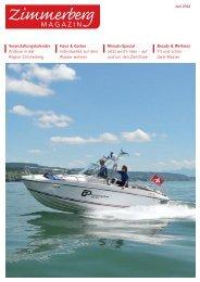Ausgabe Juni 2012 - Zimmerberg-Magazin
