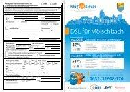 DSL für Mölschbach - Klug und Klever