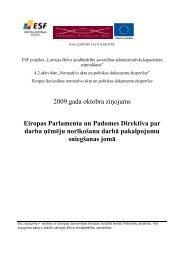 Eiropas Parlamenta un Padomes Direktīva par darba ņēmēju