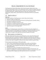Requirements Analysis Phase - DoIT Website - Maryland.gov