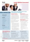 Insight SAM Risk Assessment S O F T W A R E    E D I T I O N - Seite 2