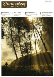Ausgabe November 2012 als PDF-Download - Zimmerberg-Magazin