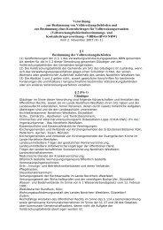 Verordnung zur Bestimmung von ... - GKV Altenberge