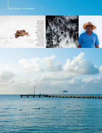 gourmet traveller - Cayman Islands