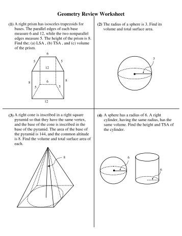 geometry final exam review worksheet. Black Bedroom Furniture Sets. Home Design Ideas