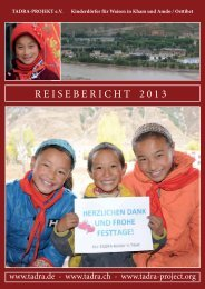 Reisebericht 2013 - Tadra.de