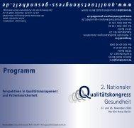 Programm - Deutsche Gesellschaft für Medizincontrolling