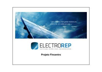 (Microsoft PowerPoint - Apresenta\347\343o ElectroREP) - Projeto