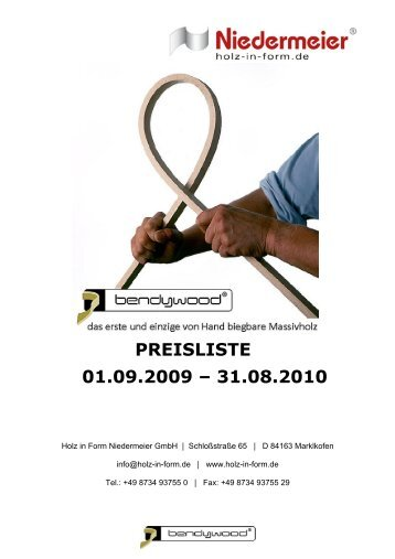 REC - Holz in Form Niedermeier GmbH