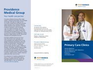 Participating PMG clinics - Providence Health Plan - Providence ...