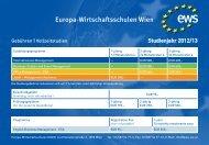 Europa-Wirtschaftsschulen Wien
