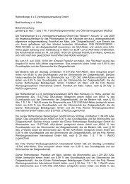 Rothenberger 4 x S Vermögensverwaltung GmbH Bad ... - aaa-ffm.de